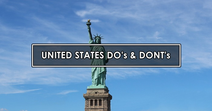 america dos and donts