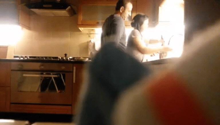 employer filipina washing dishes