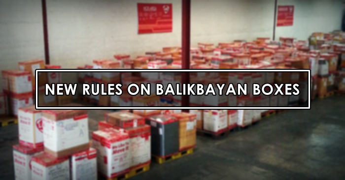 new rules balikbayan box