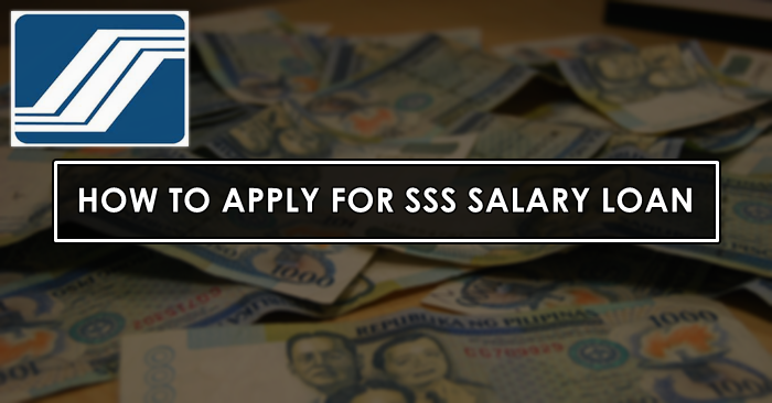 sss salary loan application as OFW