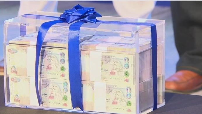 1 million dirhams al ansari exchange dubai