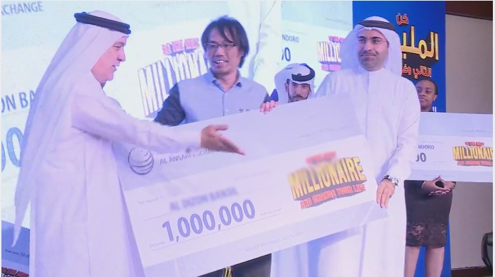 1 million dirhams pinoy uae raffle