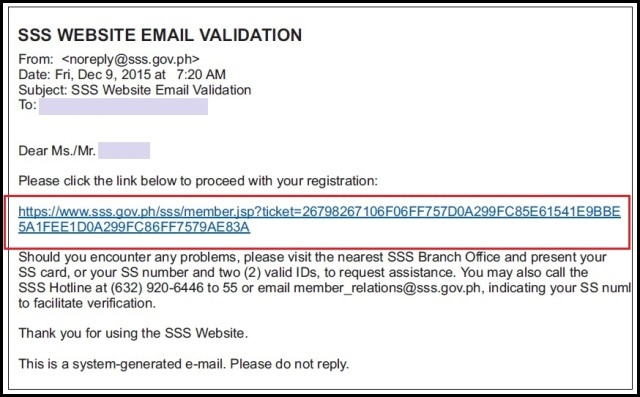 check email from sss philippines