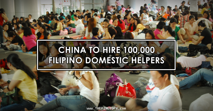 filipino domestic helpers china