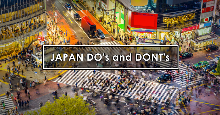 japan dos and donts