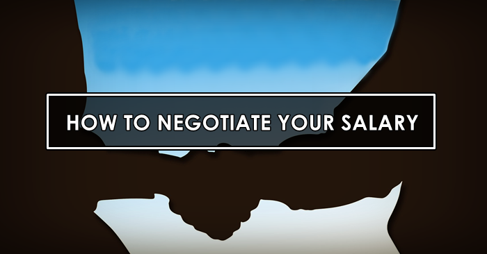 negotiate salary tips