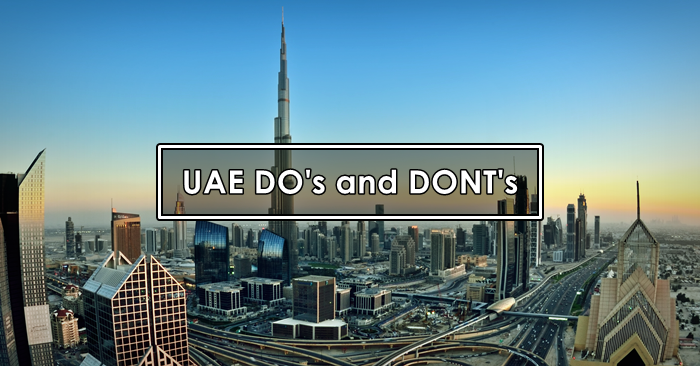 uae dos and donts