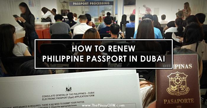 How To Renew Philippine Passport In Dubai United Arab Emirates