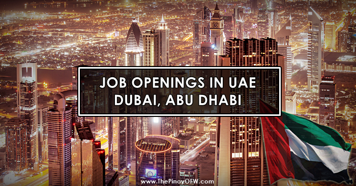 jobs in uae dubai abu dhabi