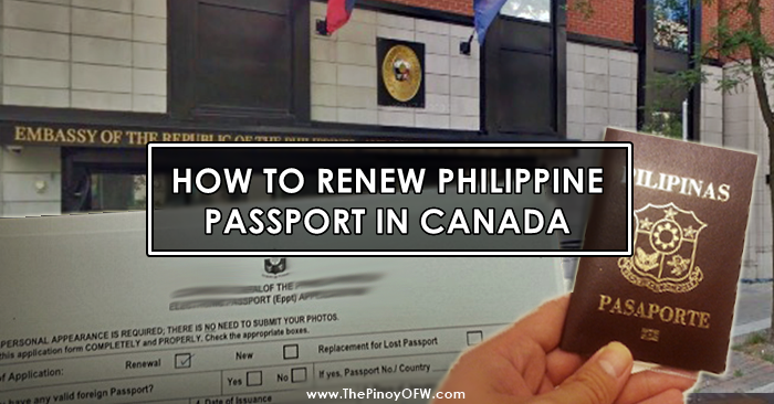 renew passport canada