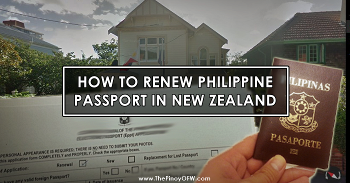 renew passport new zealand