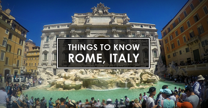 things to know rome italy