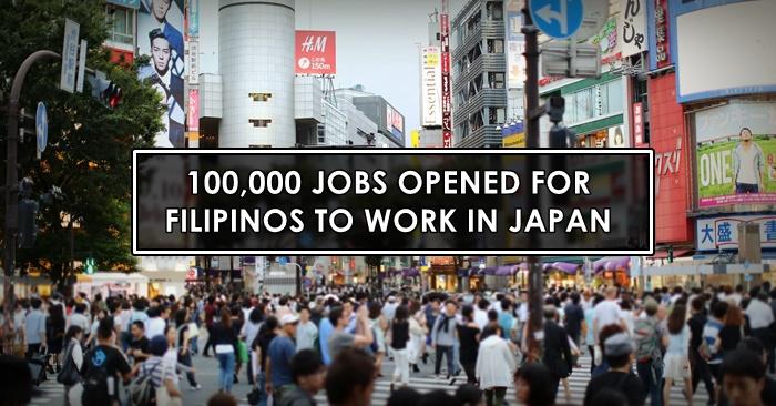 japan pinoy job openings