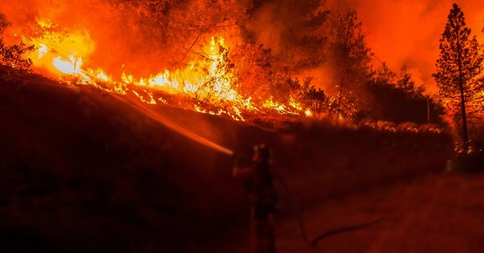 wildfire-south california