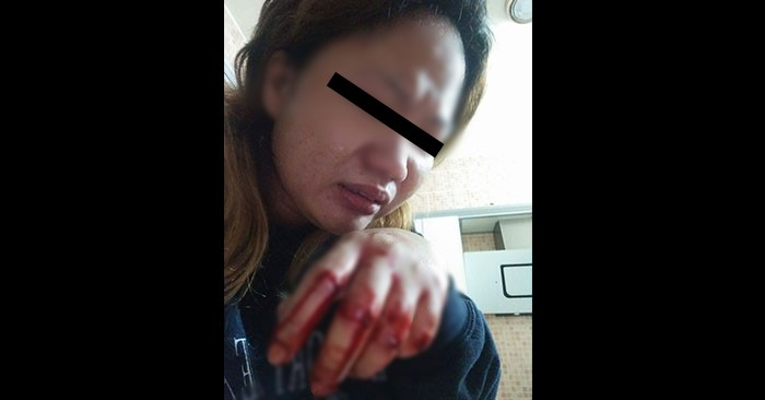 pinay saudi stabbed while asleep