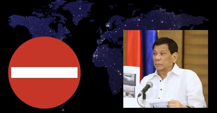 Duterte OFW Ban