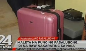 pinay luggage naia