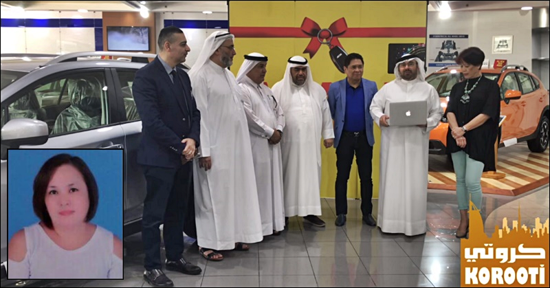 Filipina OFW from Kuwait Wins Brand-New SUV worth PHP 1M | The Pinoy OFW
