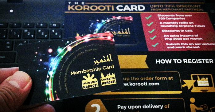 korooti-vip-membership-card