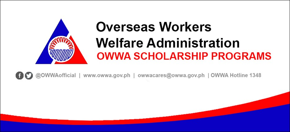 owwa scholarships and training programs for ofws