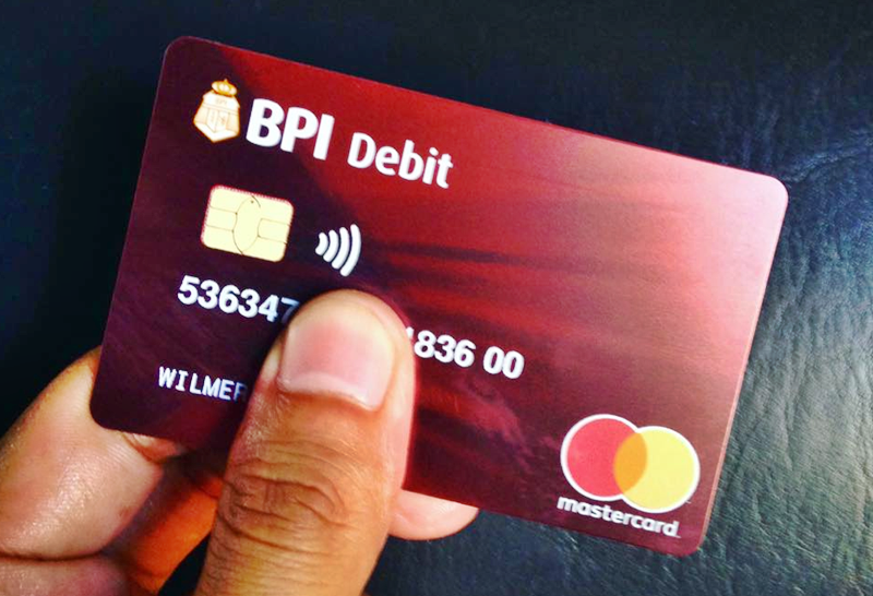 Bank Account Number Bpi Atm Card