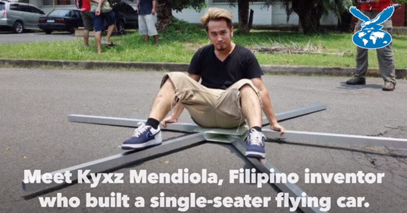 WATCH: Self-taught Filipino Inventor Creates a Flying Sports Car