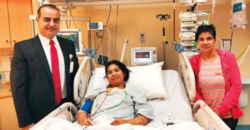 Hospital in UAE Shoulders Half of Life-Saving Surgery for Filipina OFW