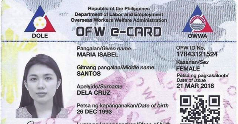 Launch of OWWA OFW e-Card to Replace iDOLE OFW ID