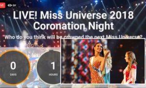 miss universe show