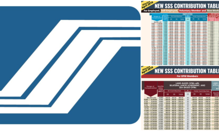SSS Monthly Contribution Table and Schedule of Payment 2019