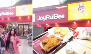 WATCH Pinoy Couple Spots Copycat Jollibee in China