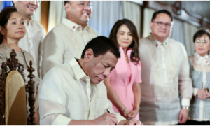Duterte Signs Universal Healthcare Act into Law