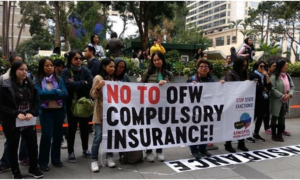 HK-based Migrant Group Disapproves Mandatory SSS, Insurance for OFWs