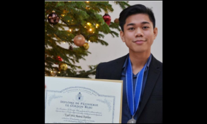 OFW's Son Enters Specialty Programme in London via Scholarship Grant