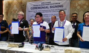 Returning OFWs Soon to Receive Skills Training from OWWA & TESDA