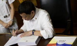 Duterte Signs 4-Year Technical Education, Skills Dev't Plan
