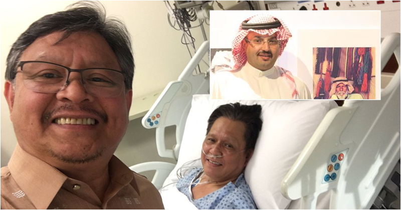 Saudi Prince Pays for OFW's Open Heart Surgery