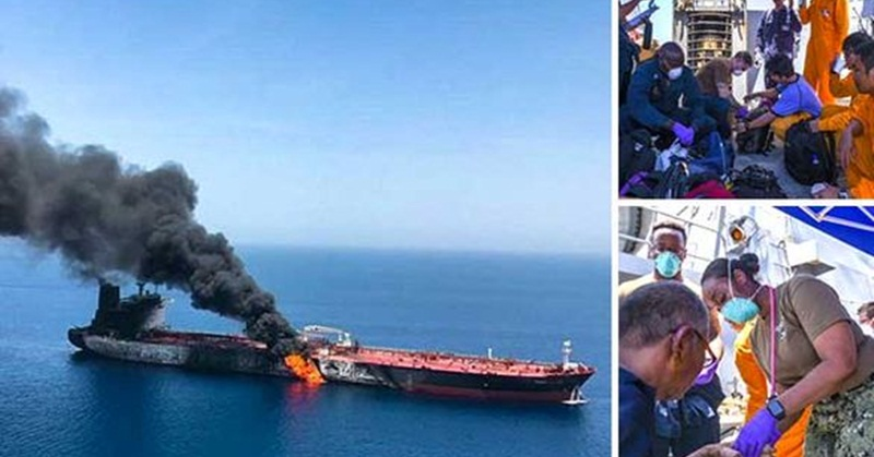 Embassy: All 32 Filipinos Involved in Tanker Attack in Gulf of Oman Safe