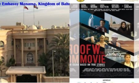 'OFW the Movie' to Have Special Screening in Bahrain