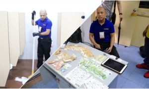 Honest Airport Employee Returns Bag with over PHP 400K Cash