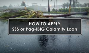 sss pagibig calamity loan