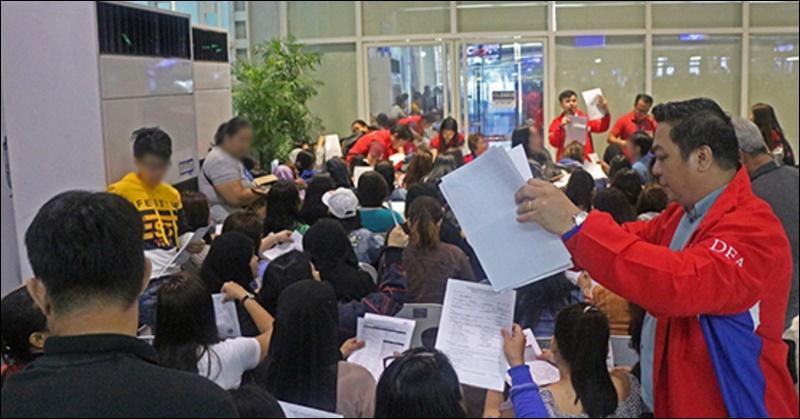 DFA Repatriates 71 OFWs in Distress, Issues Warning Against Visit Visa Scheme