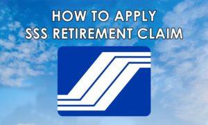 sss retirement claim