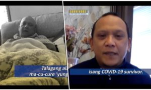 [Watch] Filipino Nurse in UK Overcomes Ordeal with Cancer and COVID-19