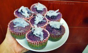 ube macapuno cupcake recipe