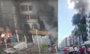 Zuhai City Explosion