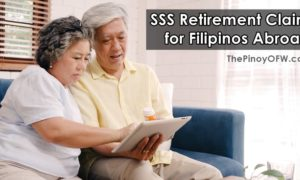 how to file sss retirement claim filipino abroad