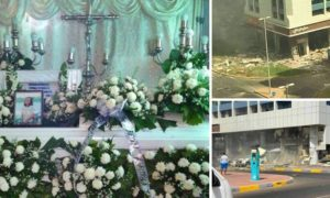 rip remains of filipina in abu dhabi blast arrive in dumaguete