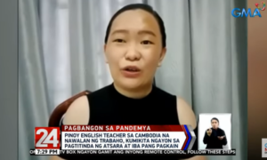 [WATCH] OFW Sells Atsara in Cambodia After Losing Job as a Teacher