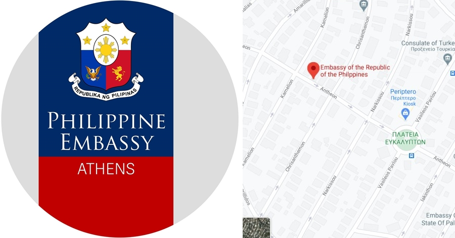 Philippine Embassy in Athens, Greece